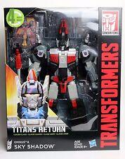 Transformers Generations Titans Return Sky Shadow & Ominus Leader Class Figure