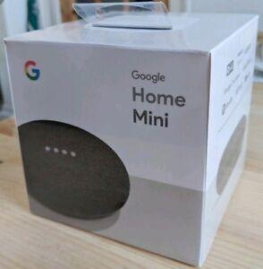 Google Home Mini - Smart Small Speaker - Charcoal -  BRAND NEW-SHIP WORLDWIDE