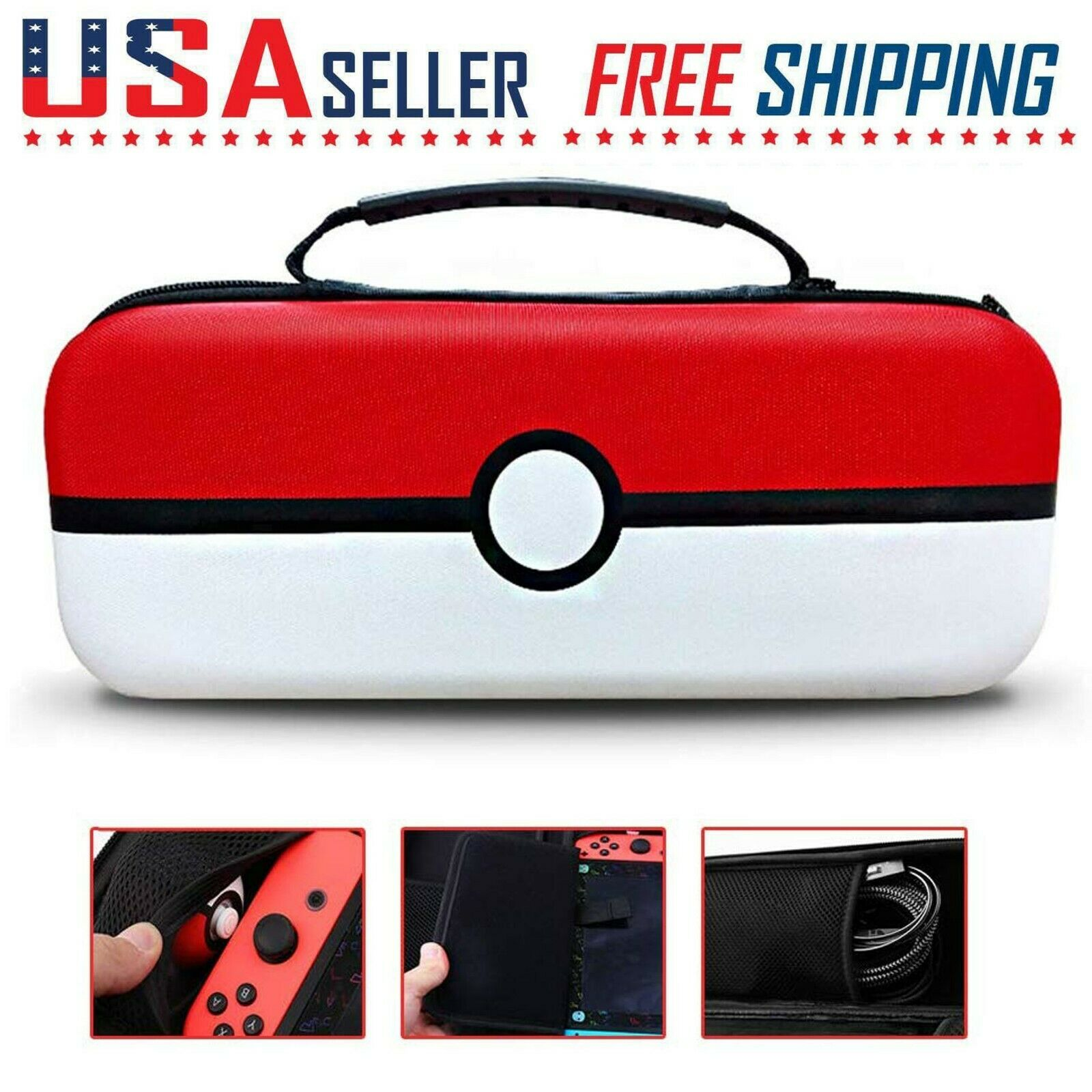 Sonic The Hedgehog Portable Protective Bag Nintendo Switch For Sale Online Ebay