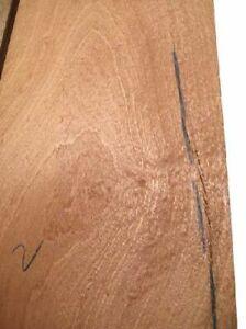 2x Mahogany Board Pommele Tree Grates Rustic 63x27/29cm 22
