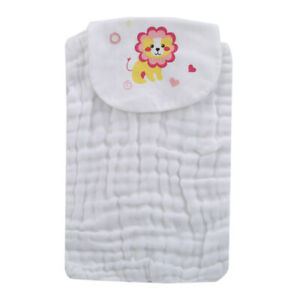 Infant-Kids-Baby-Bib-Burp-Washcloth-Wash-Cloth-Cotton-Bath-Face-Towel-W