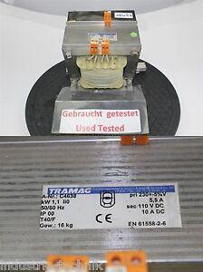 Tramag-C4638-1-1-Kw-Transformateur-Pri-230-Volts-Transformateur