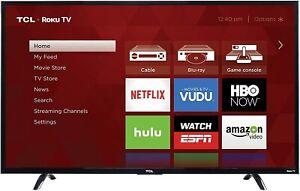 "TCL 43"" Full HD LED Roku Smart TV - 3 HDMI - 43FP110"