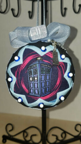 WHO  INSPIRED QUILTED ORNAMENT Details about  /DR