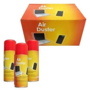 6 x 200ml compressed air duster cleaner can canned laptop keyboard mouse phones ebay. Black Bedroom Furniture Sets. Home Design Ideas