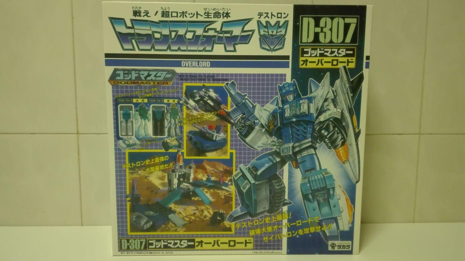 G1 transformers overlord box takara und styropor - brauch