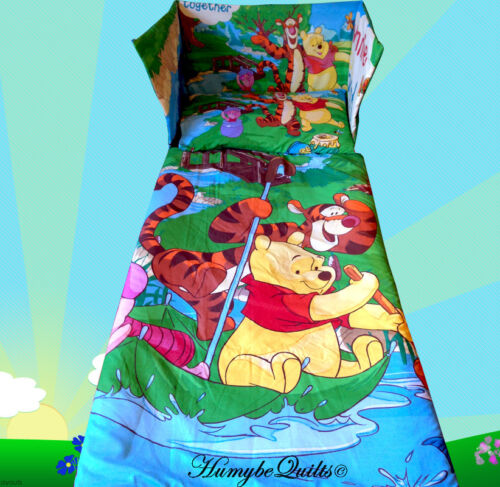 all sizes available Disney Winnie the Pooh Tigger Blue Green BEDDING SET