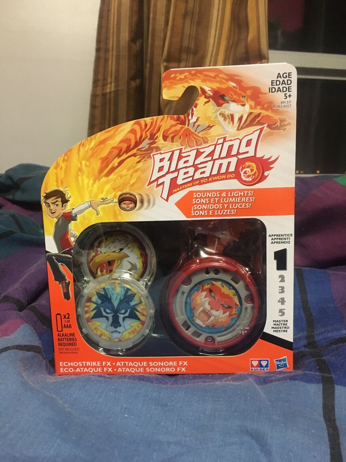 BLAZING TEAM, MASTERS OF YO KWON DO, LEVEL 1, HASBRO Super RARE