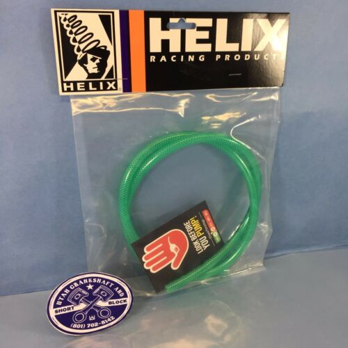 "HELIX GREEN HIGH-PRESSURE 3 FT 1//4/"" FUEL LINE HOSE HONDA KAWASAKI YAMAHA"