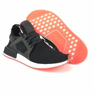 best loved 45920 5bee8 Details about Adidas Originals Mens NMD_XR1 Black Solar Red Running Shoes  Size 9 M