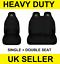 CITROEN Van Seat Covers Protectors 2+1 100/% WATERPROOF Black HEAVYDUTY  Dispatch