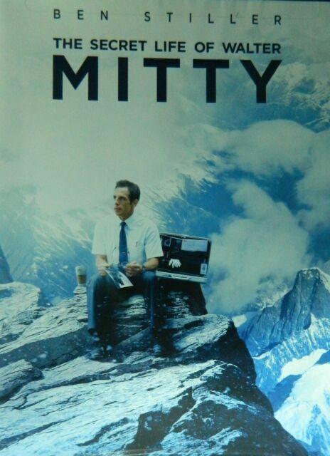 The Secret Life Of Walter Mitty Ben Stiller Dvd 2013 024543919254 For Sale Online Ebay