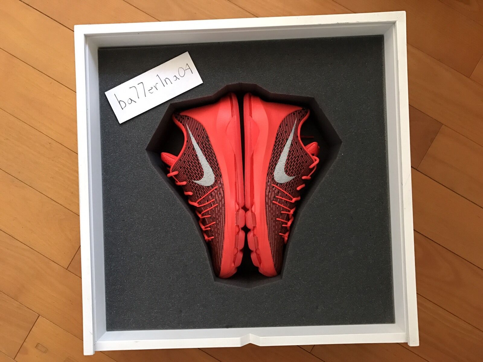 Nike Zoom KD 8 Rare Limited Box Collector's Item Display 1 Of 50 DS Size 9 PE