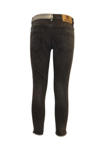 SIMPLY Jeans Da Donna Designer ANGOSCIA Ripped Skinny Jeans Stretch Lunghezza Alla Caviglia