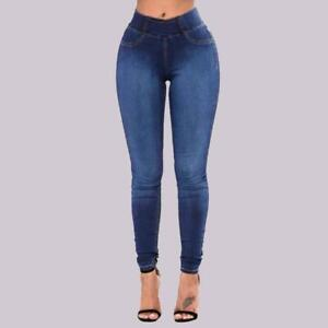 Jeans Pantalon Jean De Moda Pantalones Mujer Colombianos Levanta Cola Cintura Alta Clothing Shoes Accessories