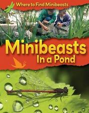 Minibeasts in a Pond (Where to Find Minibeasts)-ExLibrary