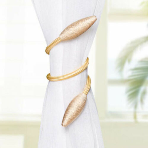 Nets,Voiles Twisted Buckle Clips Pair of 55cm Tie-backs Buckle for Curtains