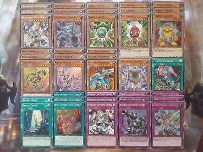 Yugioh Tournament Ready to Play Gadget 40 card Deck Destroyer Dynamo Machine NM