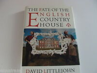 Fate Of The English Country House By Littlejohn 1997 Hc 1st Ed.