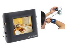 """2.5"""" LCD Portable CCTV CVBS Security Camera Tester Wrist Color TFT Test Monitor"""