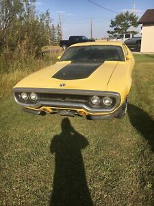 1972 Plymouth Road Runner delux