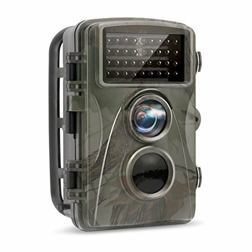 12MP 1080P Full HD Hunting Game Camera With Night Vision for Wildlife Monitoring