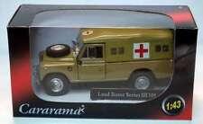 Cararama 1:43 - Land Rover S3 - Desert Army Ambulance