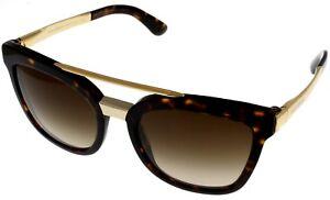 Image is loading Dolce-amp-Gabbana-Sunglasses-Women-Brown-Tortoise-Square- 7a83773d7037b