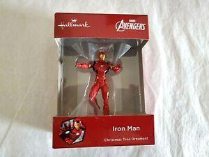 Hallmark-2018-Iron-Man-Avengers-Red-Box-Christmas-Ornament