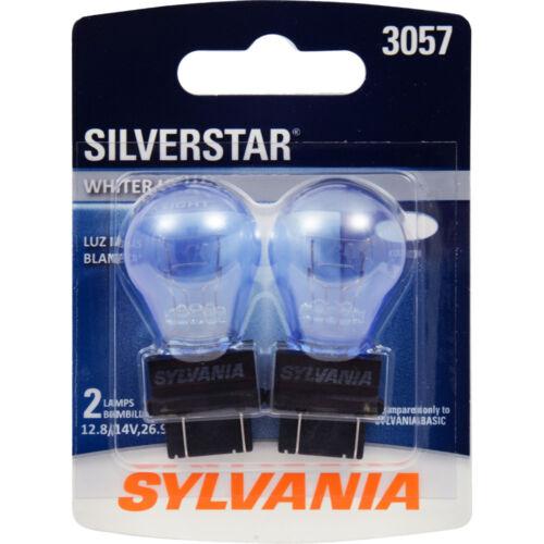 Pair Sylvania Silverstar 3057ST BP Brake Light Blister Pack