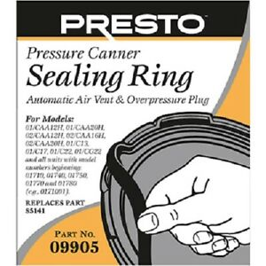 Presto-09055-Pressure-Cooker-Sealing-Ring-With-Automatic-Air-Vent
