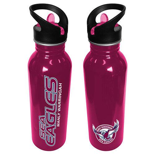 NEW 2018 Canterbury Bulldogs NRL Aluminium Drink Bottle School Work Sport Gym