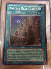 2006 Yu-Gi-Oh! Shadow of Infinity 1st #SOI-EN047 Ancient Gear Castle YuGiOh Card