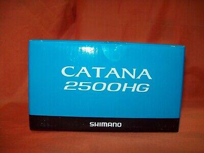 SHIMANO CATANA 2500HG Low Profile Spinning Reel 6.2:1 Ratio #CAT2500HGFD