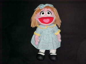 Details About 16 Prairie Dawn Plush Doll From Sesame Street By Sesame Workshop 2007