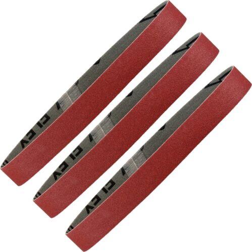3 Original Metabo Schleifbänder 50x1020mm Auswahl f-Doppelschleifmaschine BS175