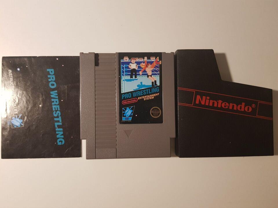 Pro Wrestling, NES