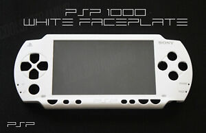 PSP-1000-1XXX-Replacement-White-Front-Faceplate-UK-Dispatch