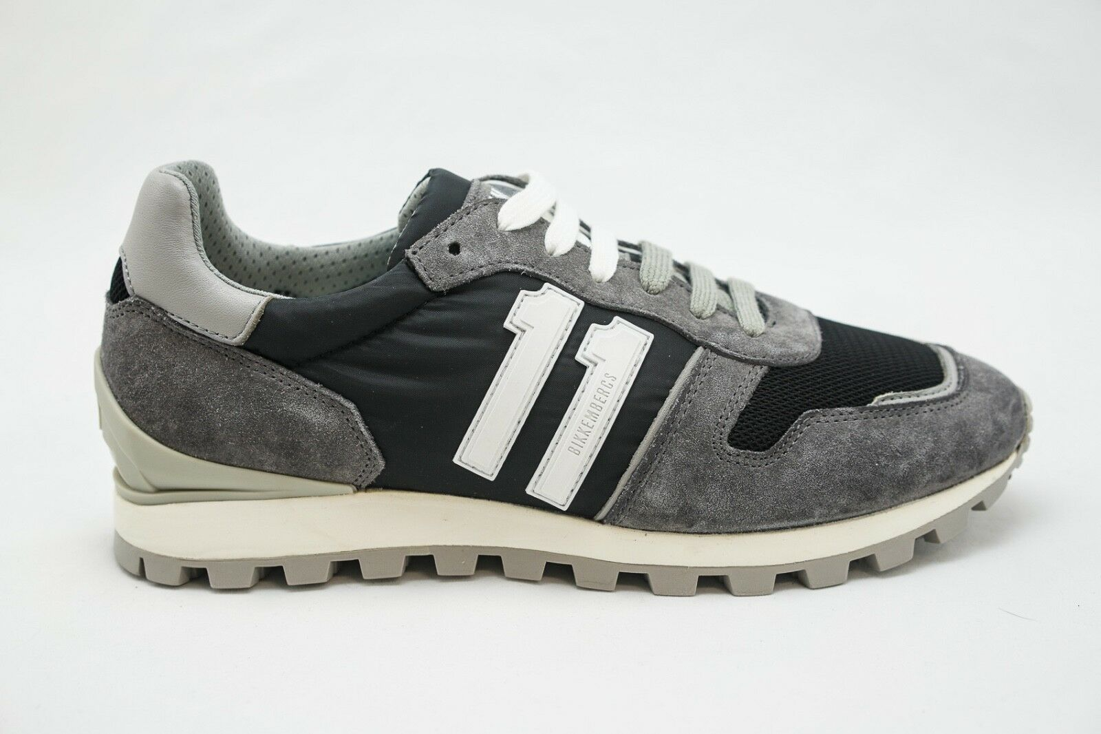 Bikkembergs Grey Sports Sneakers BKE108670 New
