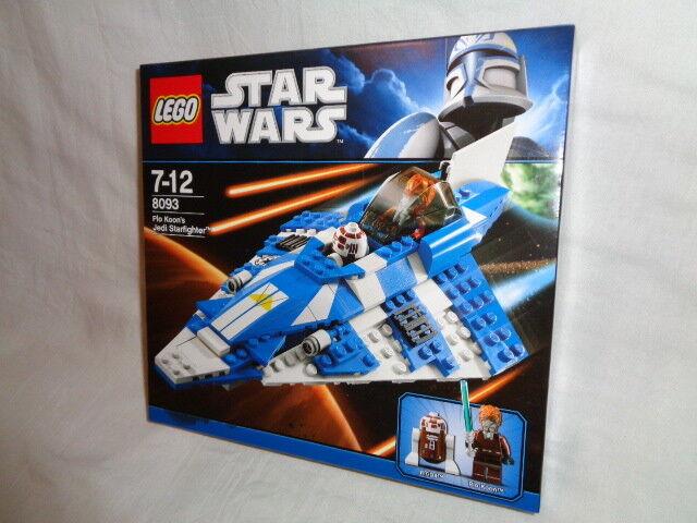 LEGO STAR WARS 8093 - PLO KOON'S JEDI STARFIGHTER   NEW AND SEALED