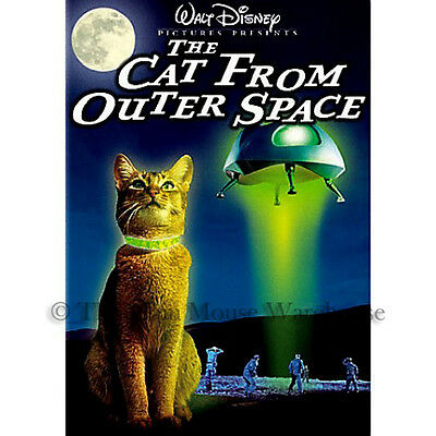 Disney The Cat From Outer Space UFO U S  Government Science Fiction Comedy  DVD 786936234077 | eBay