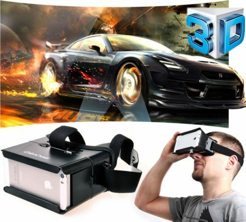 """Colorcross Universal Google Virtual Reality 3D Video Glasses For 4~6"""" Smartphone"""