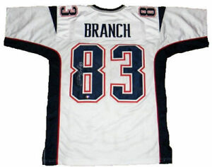 brand new 6a34e fbb52 Details about Deion Branch Signed New England Patriots Jersey (JSA COA)  Super Bowl MVP (XXXIX)