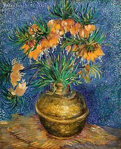 Van-Gogh-1887-Fritillaries-in-a-Copper-Vase-Fade-Resistant-HD-Print-or-Canvas