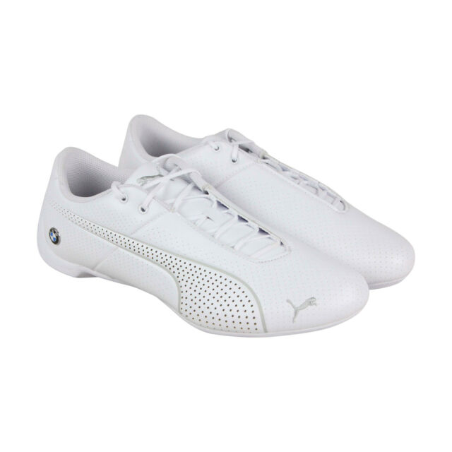 Puma BMW M Motorsport Future Cat Ultra Mens White Lace Up Low Top Sneakers Shoes