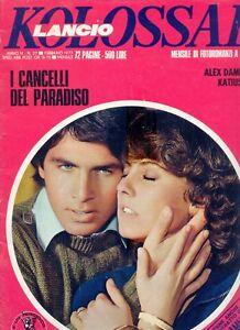 Discipliné Fotoromanzo Kolossal N. 27 ( Lancio ) - 1977 - Buono - Poster Di A. Damiani Soulager La Chaleur Et La Soif.
