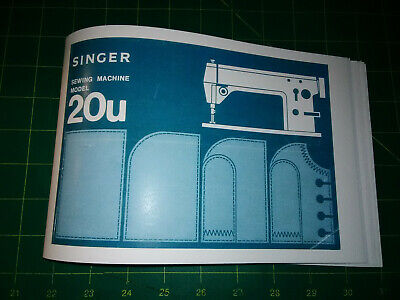 Singer 31-20 Sewing Machine  Instruction Manual Reproduction
