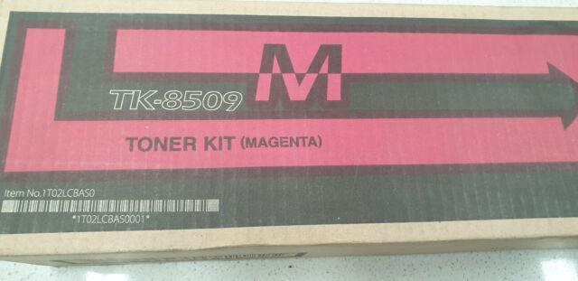 Genuine Kyocera TK 8509M Magenta Toner, Brand New See Photos