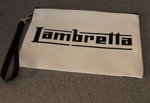 Scooter Bag Handy Bag 15cm x 23cm Zipper Tool Bag//Strap Lambretta Tool Bag