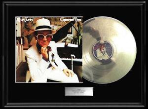 ELTON-JOHN-GREATEST-HITS-RARE-WHITE-GOLD-PLATINUM-TONE-RECORD-VINYL-LP-NON-RIAA